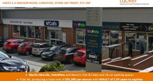 Stoke Neighbourhood Shopping Parade Investment Sold by Johnson Tucker